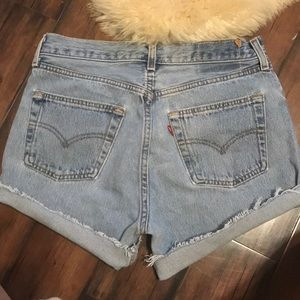 Levi shorts vintage